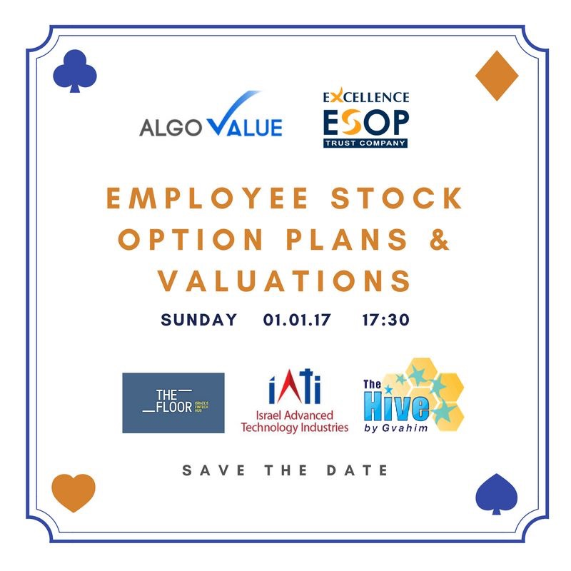 Employee stock options valuation